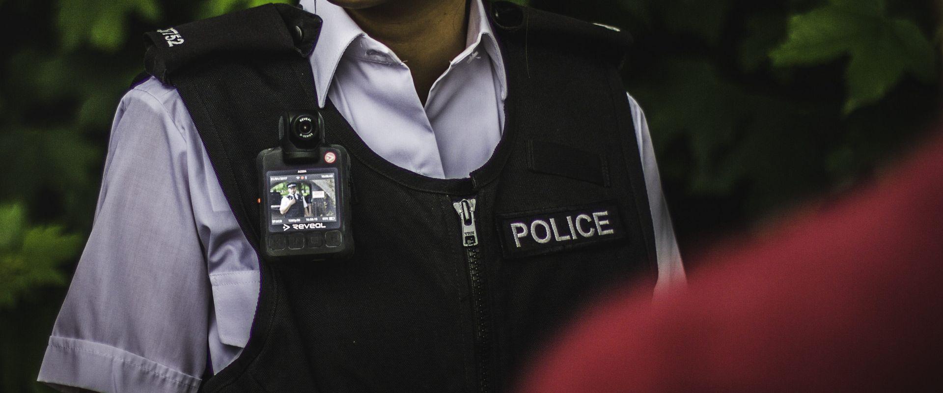 UK police body camera women