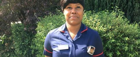 Nurse Midlands body camera