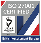 72 60x62 UKAS ISO 27001 british assessment bureau logo